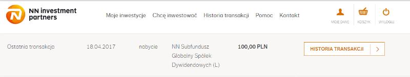 Menu NNTFI24.pl jest proste - im mniej, tym wygodniej dla klienta