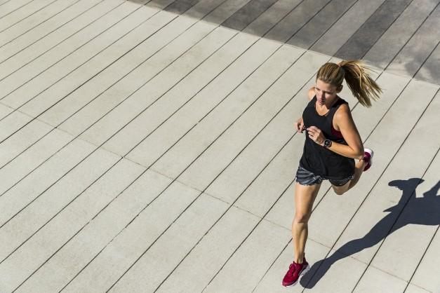 Bieganie z zegarkiem